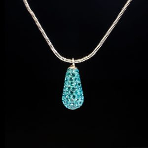 Teal Small Teardrop