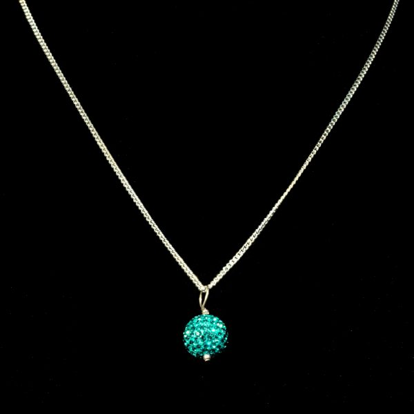 Chain With Teal Ball