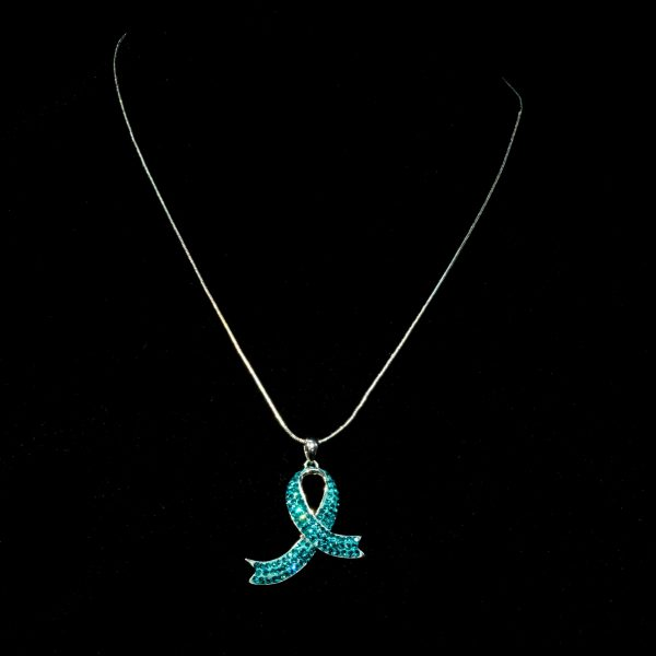 Snake Chain With Awareness Ribbon