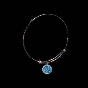 Special Design Teal Bracelet